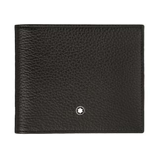 Montblanc Meisterstuck Black 8CC Leather Wallet