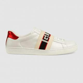 Gucci Mens Ace Gucci Stripe Sneaker