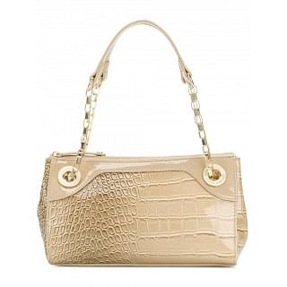 Versace Jeans Alligator-effect Shoulder Bag