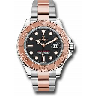 Rolex Yacht-Master 40 Everose Gold Intense Black