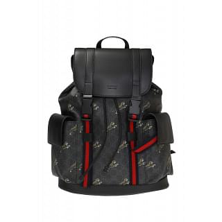Gucci GG Supreme Bestiary Tigers Backpack