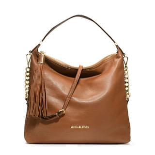 Michael Kors Bedford Large Tassel Hobo Shoulder Bag