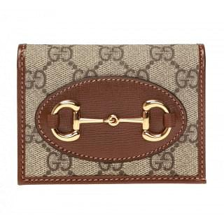 Gucci Horsebit 1955 Card Case Wallet