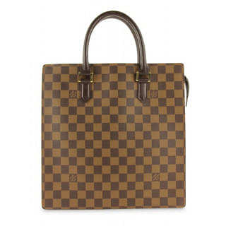 Louis Vuitton Damier Ebene Canvas Venice Sac Plat Tote