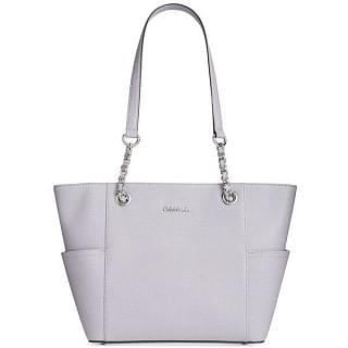 Calvin Klein Hayden Saffiano Leather Chain Tote
