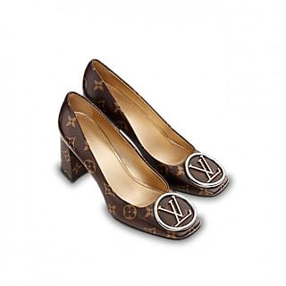 Louis Vuitton Monogram Madeleine Pump