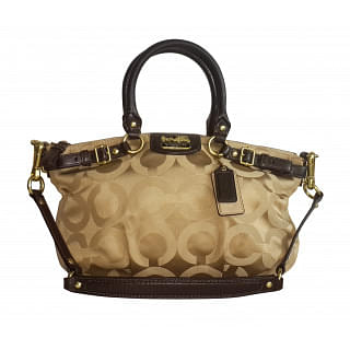 Coach 18650 Madison Op Art Sateen Sophia Satchel