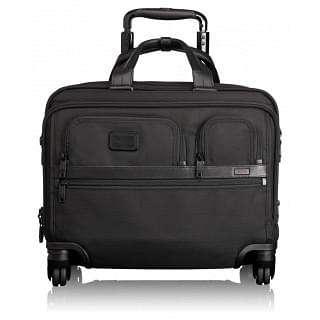 Tumi Alpha Ballistic Business 4 Wheel Deluxe Briefcase