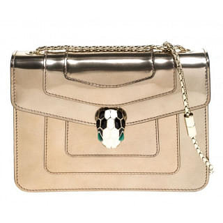 Bvlgari Serpenti Forever Bronze Crossbody Bag