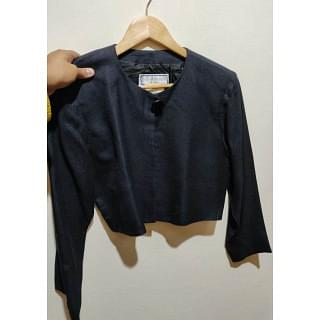 YSL Variation Cropped Jacket