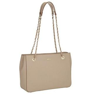 DKNY Bryant Park Saffiano Leather Chain Shopper Bag