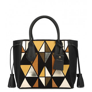 Longchamp Penelope Arty Leather and suede Tote
