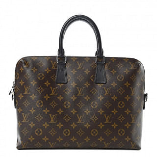 Louis Vuitton Macassar Monogram Porte-Documents Jour Bag