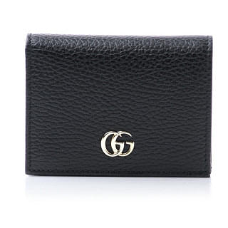 Gucci Double G Compact Card Case Wallet