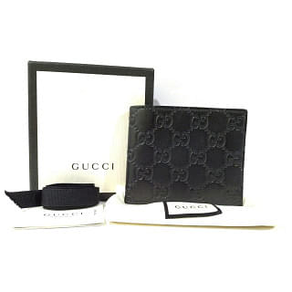 Gucci GG Embossed Bifold Mens Wallet