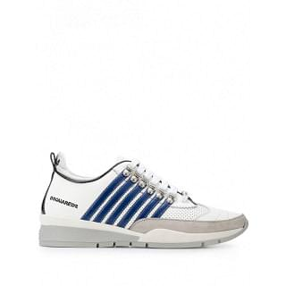 DSQUARED2 Side Band Calf Sneaker