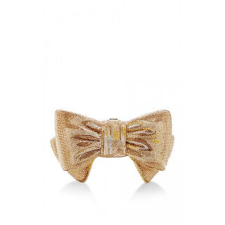 Judith Leiber Gold Bow Just For You Clutch