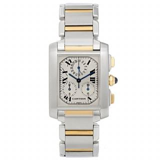 Cartier Tank Francaise Chronograph Watch