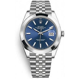 Rolex Datejust 41 mm Blue Dial Watch