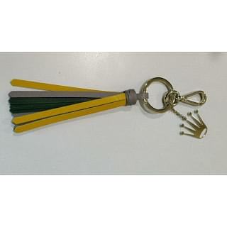 Rolex Leather Key ring Gold Plated Key chain