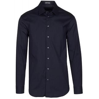 Emporio Armani Navy Slim Fit Shirt