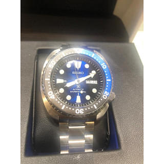 Seiko Turtle Blue Automatic Watch