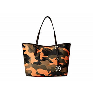 Michael Kors Camouflage Luggage Travel Tote