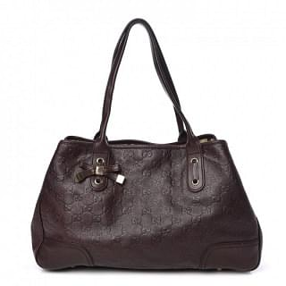 Gucci Guccissima Leather Medium Princy Tote