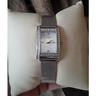 Movada ESQ Diamond Womens Watch