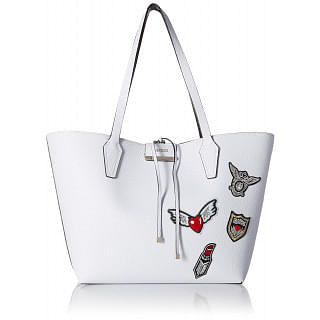 Guess Women Tote Bag , White , Leather , PT642236-WTB