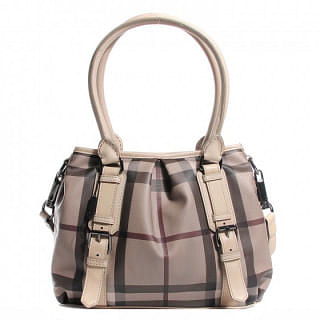 Burberry Smoked Check Small Northfield Trench Tote