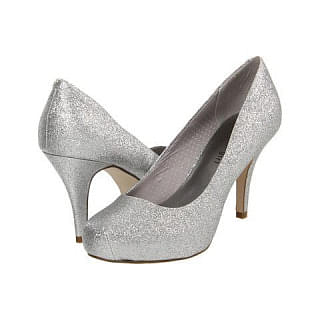 Steve Madden Girl Getta Glitter Platform Pumps