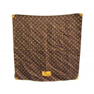 Louis Vuitton Carre Classic Monogram Silk Scarf