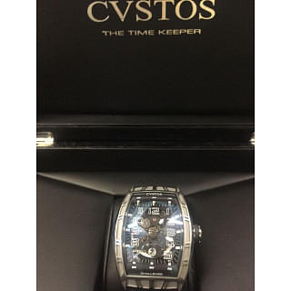 Cvstos Challenge Jet-Liner Skeleton Watch