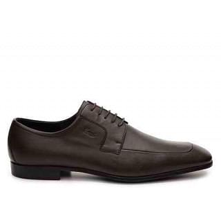 Gucci Brown Leather Lace Up Oxford Dress Shoes