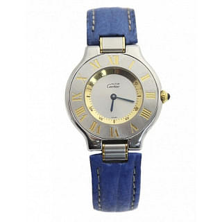 Cartier Must 21 Stainless Steel 28mm Quartz Watch