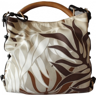 Bally Leaf Print Bag