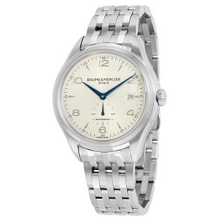 Baume and Mercier Clifton Automatic Silver Dial Men's Watch