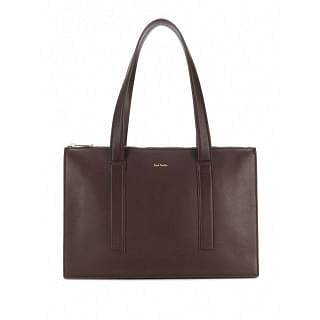 PAUL SMITH Leather Tote Bag