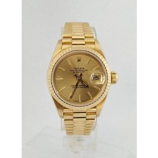 Rolex President 69178 18k Yellow Gold Stick Dial