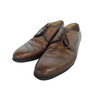 Berluti Brown Leather Shoes