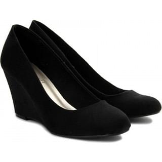 Steve Madden Kaitlin Women Women Black Wedges