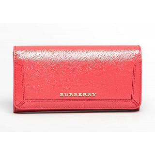 Burberry Red Penrose Continental Wallet