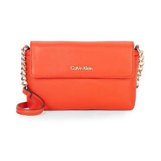 Calvin Klein Leather Crossbody Bag