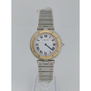Cartier Santos Ronde In Gold & Stainless Steel