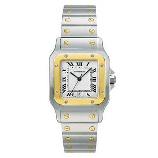Cartier Santos  Automatic 18k Yellow Gold & Steel 29MM