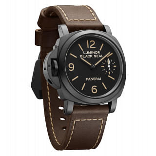 PANERAI LUMINOR BLACK SEAL LEFT-HANDED PAM 649