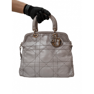 Dior Cannage Quilted Leather Granville Tote