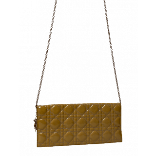 Dior Quilted Cannage Leather Lady Dior Clutch