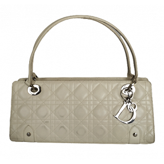 Dior Cannage Quilted Soft Lady Dior East West Bag